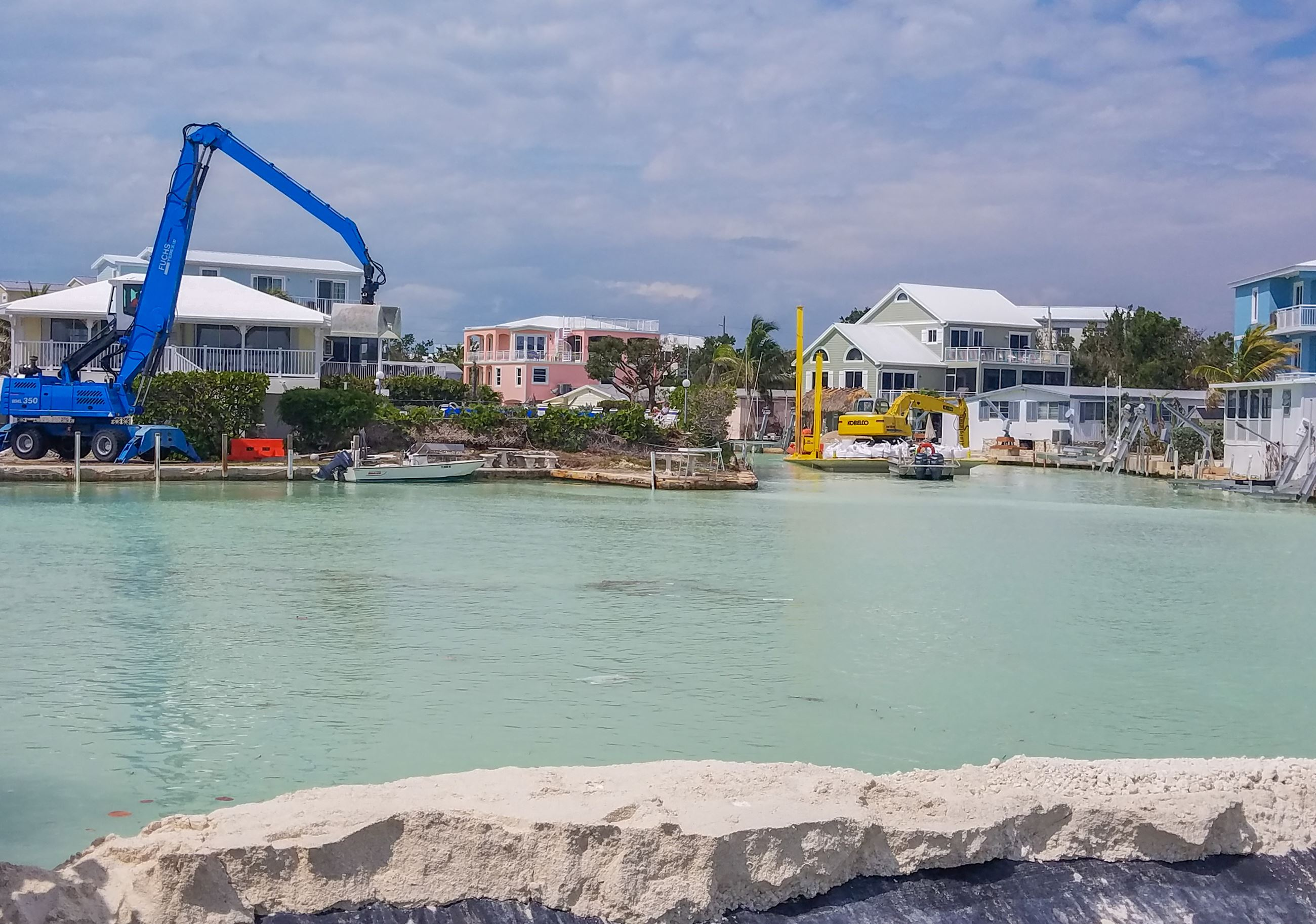 Canal Restoration on Canal 75 in Key Largo 2018-5