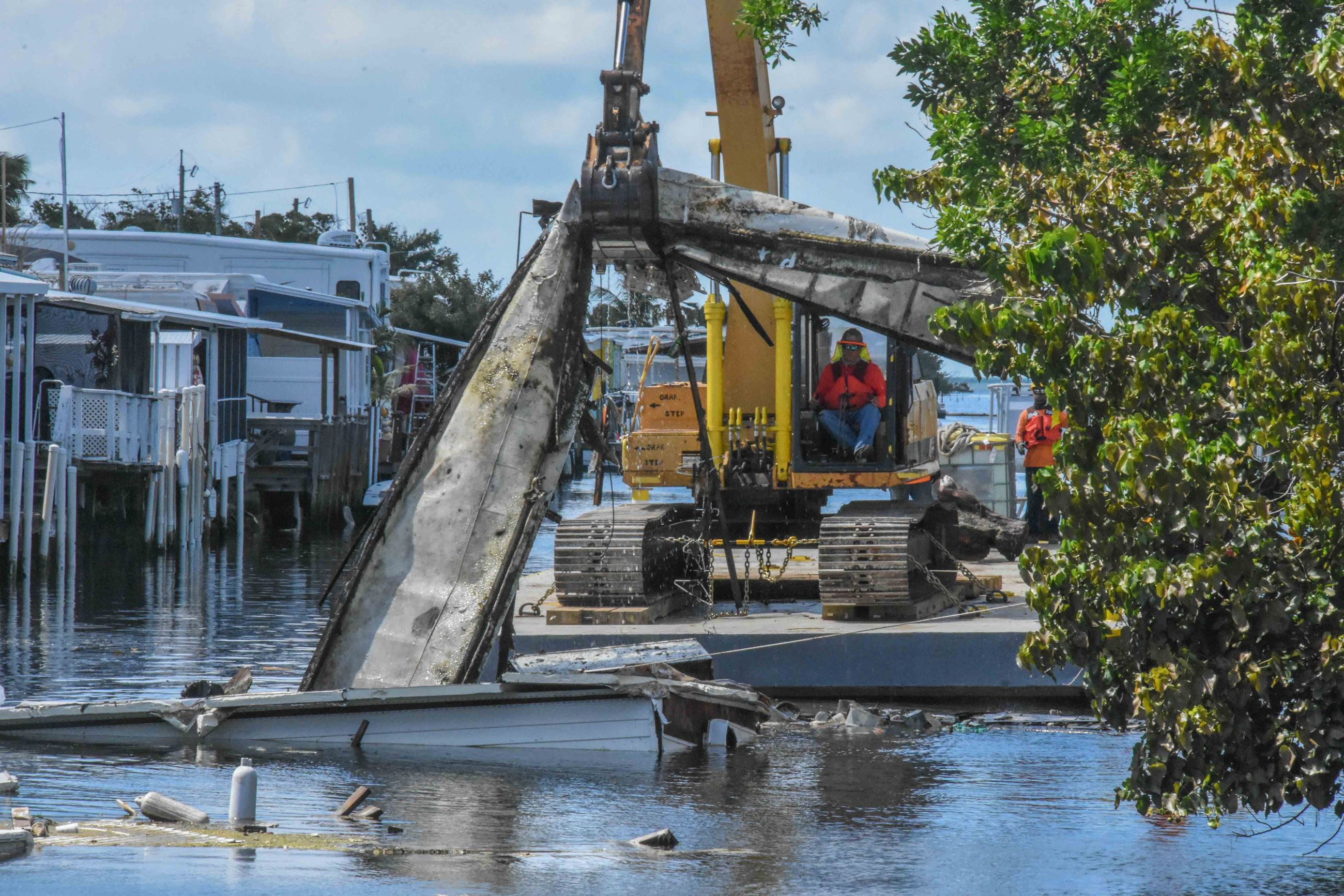 NRCS Funded Marine Debris Removal Project LR-3